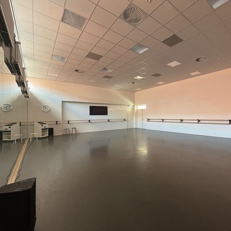 zaal overzicht locatie Dansschool Dance Floor in Barneveld